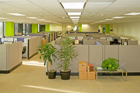Commercial office buildings interior
